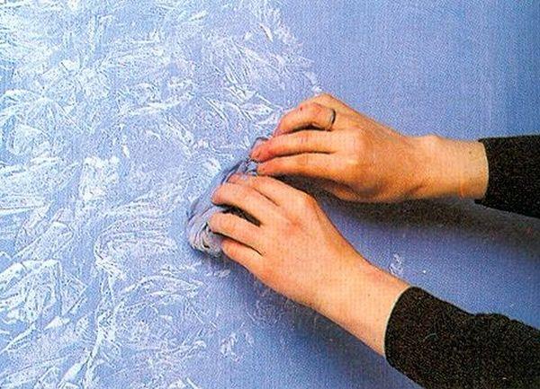 Как покрасить стены фактурной краской своими руками 499