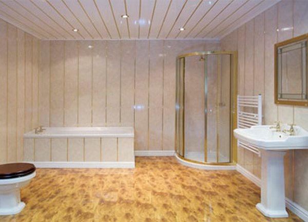 Потолок в ванной комнате из пвх панелей своими руками