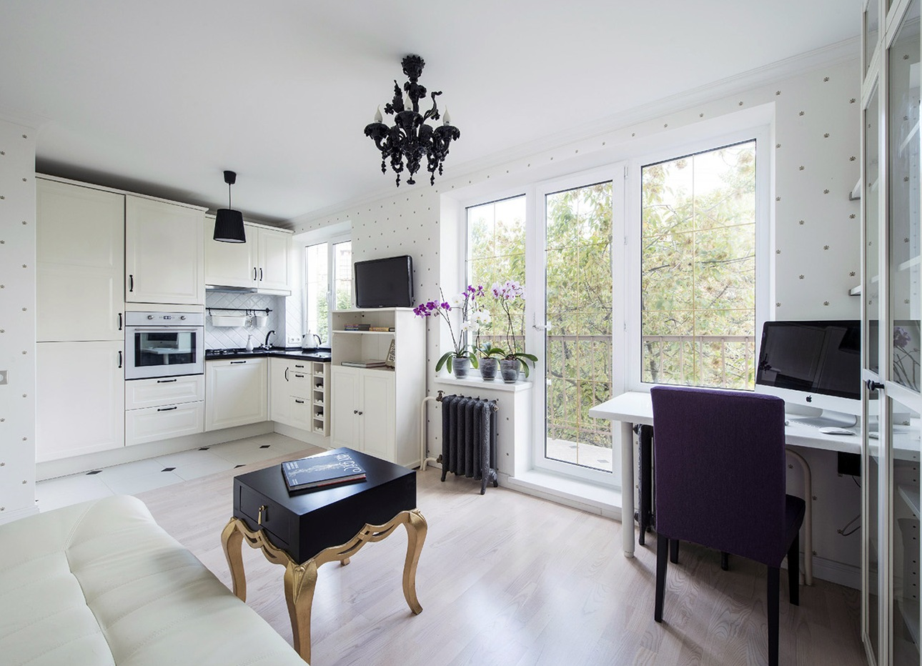 Дизайн квартиры-студии 31 кв м