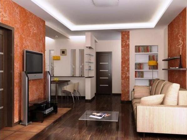 Дизайн проходной комнаты в «хрущевке» - 31 фото