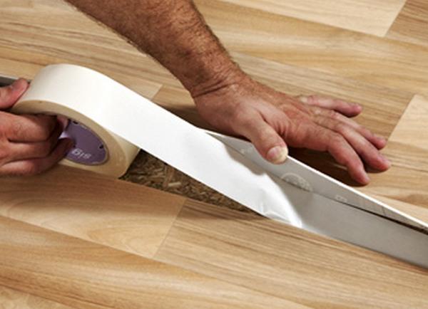 Как поменять линолеум в комнате своими руками