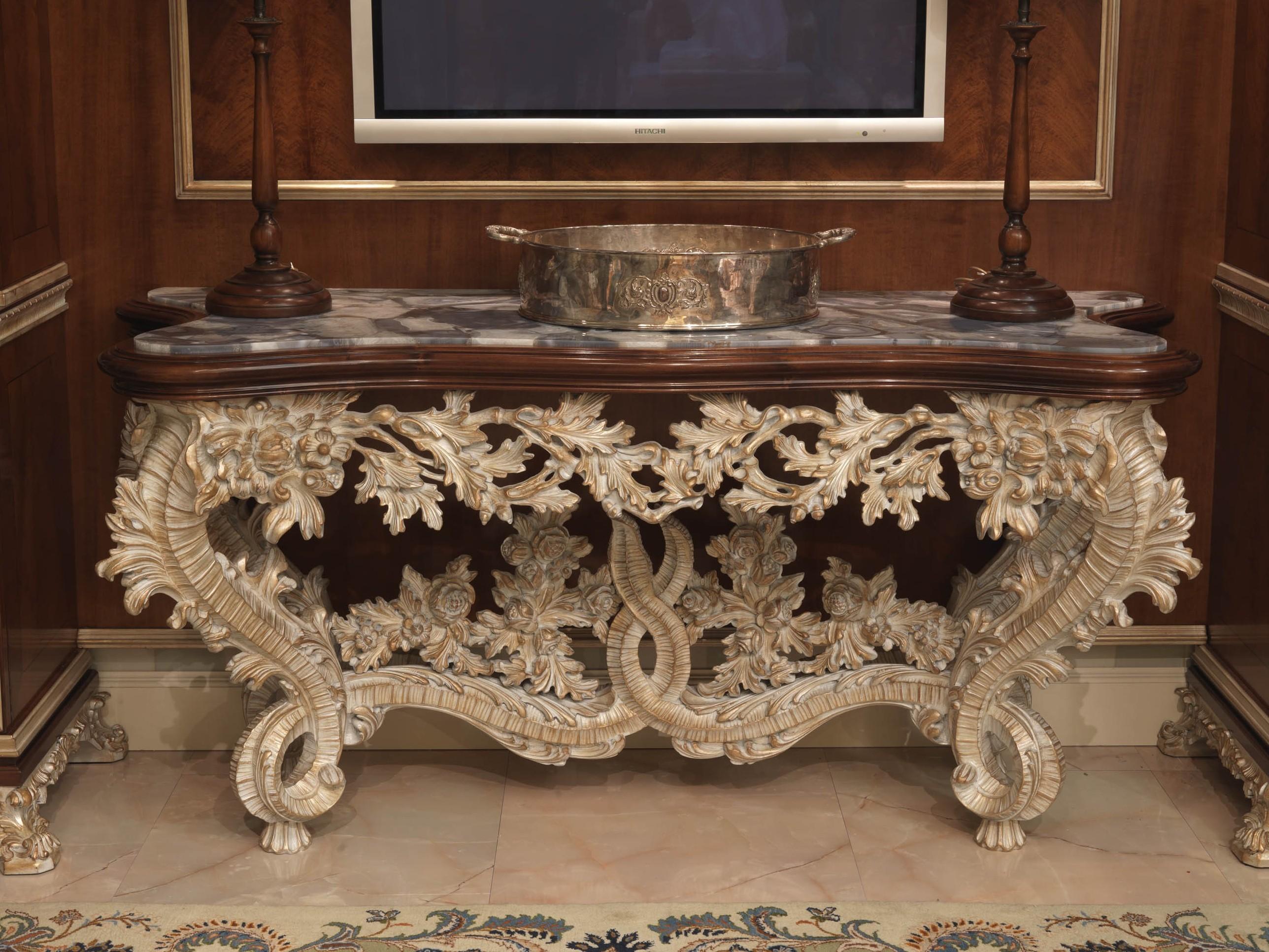 Резная мебель декор
