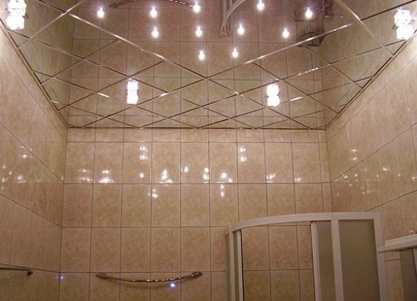 Реечные потолки в ванной комнате: способы монтажа и