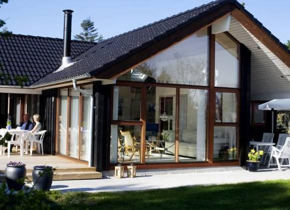 Скандинавский стиль загородного дома фото