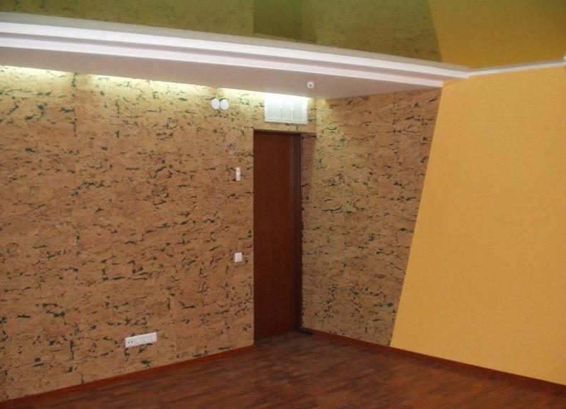 Пробковые покрытия для внутренних стен