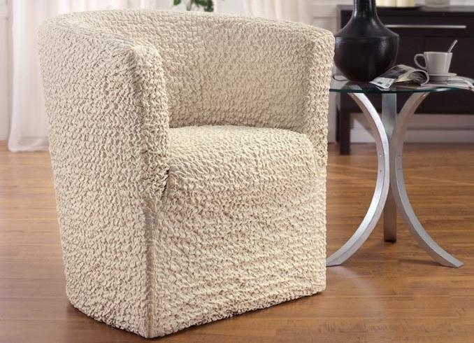 Чехол на кресло на резинке своими руками фото 848