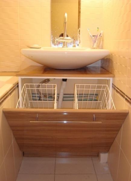 Короб для белья в ванную своими руками
