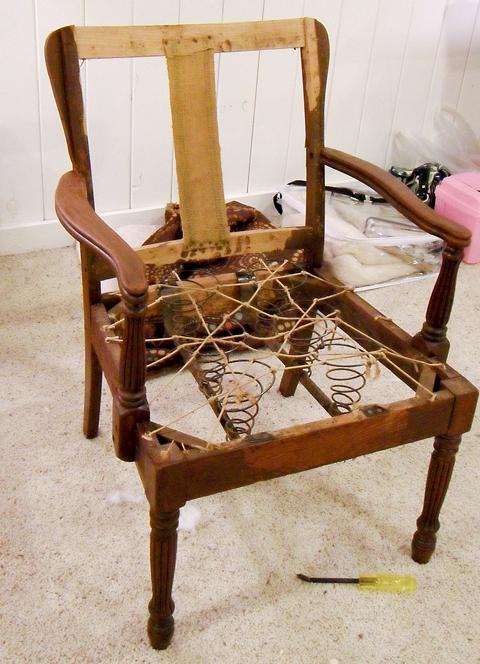Как сделать с стула кресла 187