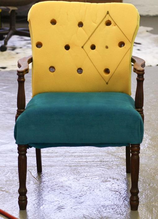 Кресло как стул своими руками