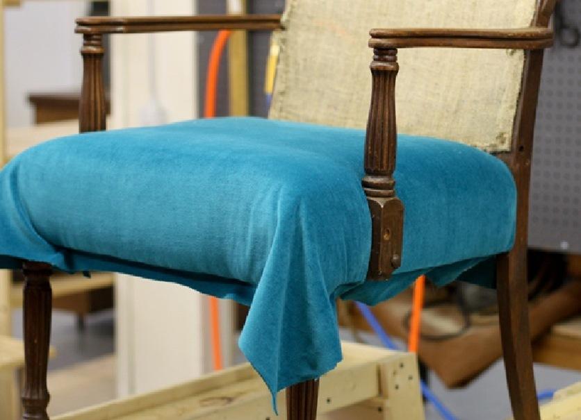 Своими руками обновить старое кресло 607