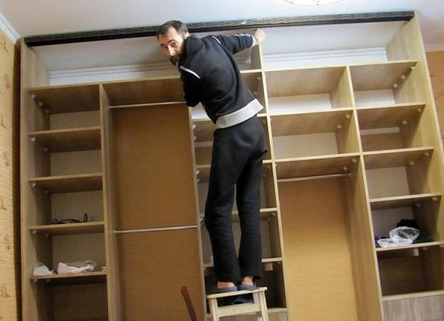 Как сделать фасады шкаф купе своими руками 32