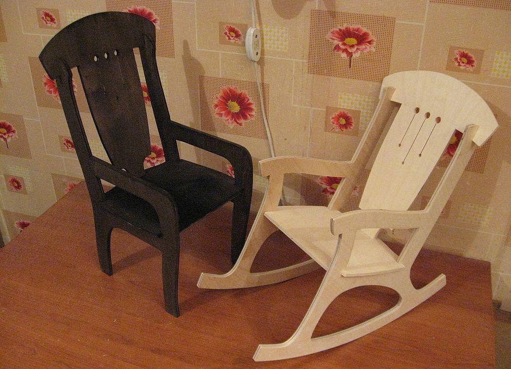 Сделать стул для куклы своими руками 20