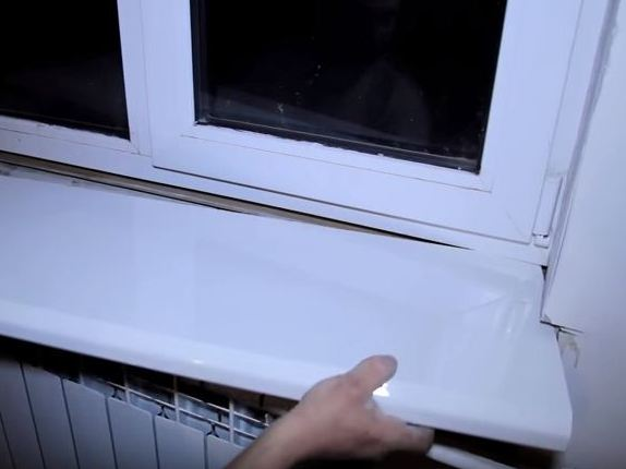 Пластиковый подоконник своими руками фото 305