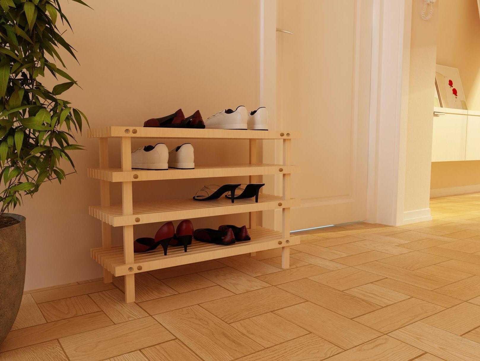 Деревянные подставки для обуви своими руками