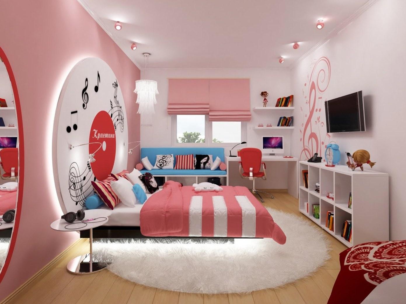 Комната для девочки подростка 13 лет дизайн