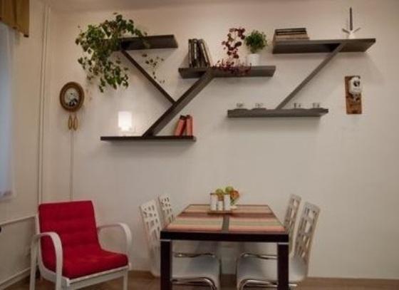 Фото полочек на стену для цветов