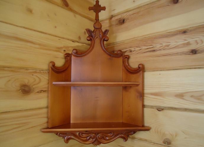 Иконостас угловой для дома своими руками фото