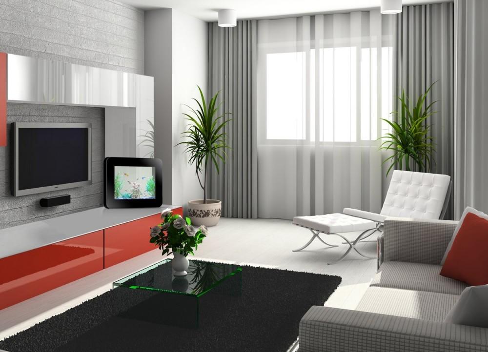 Шторы для зала в современном стиле дизайн 2017-2018