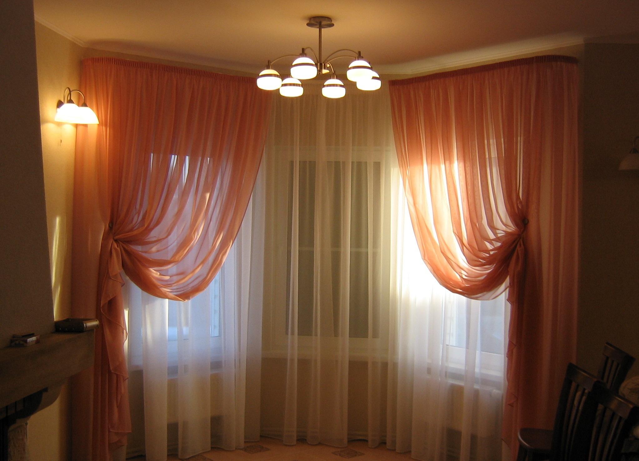 Дизайн штор для потолочных карнизов