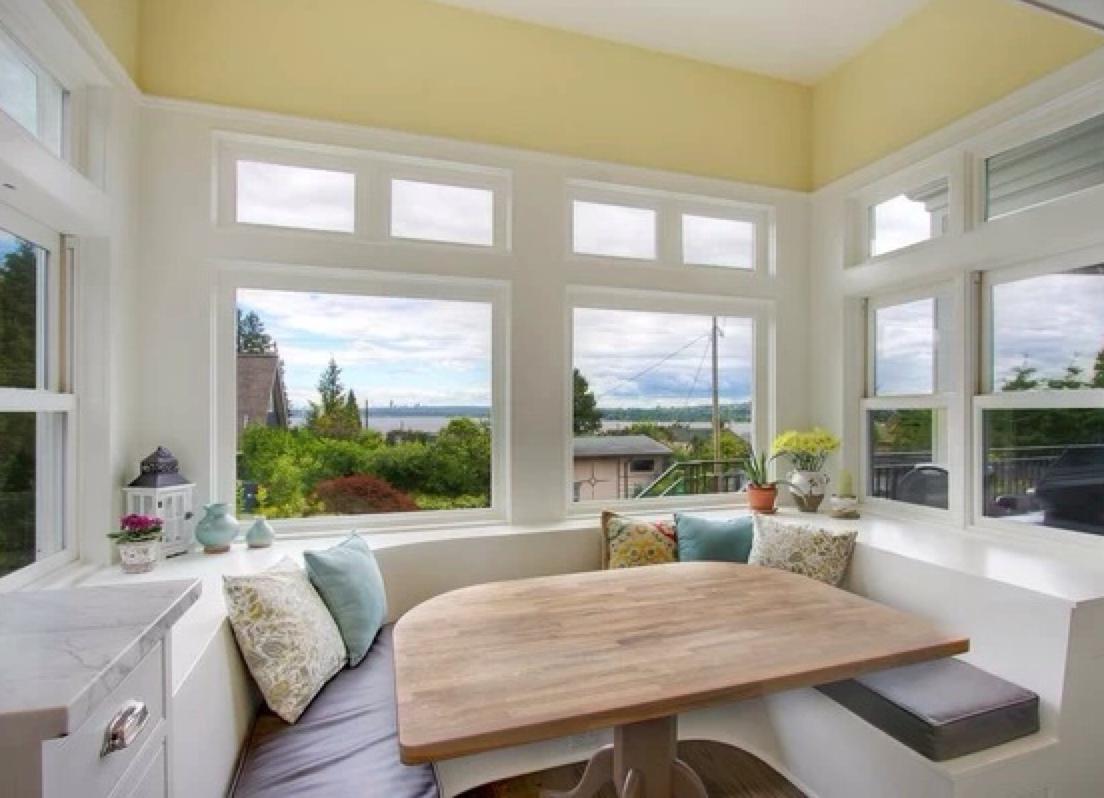 Дизайн кухни, совмещенной с балконом: фото интерьеров, идеи.