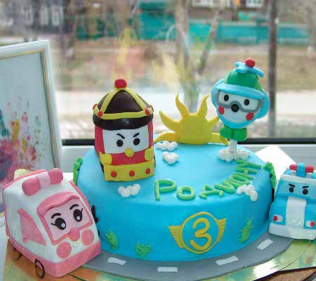 День рождения в стиле робокар поли своими руками