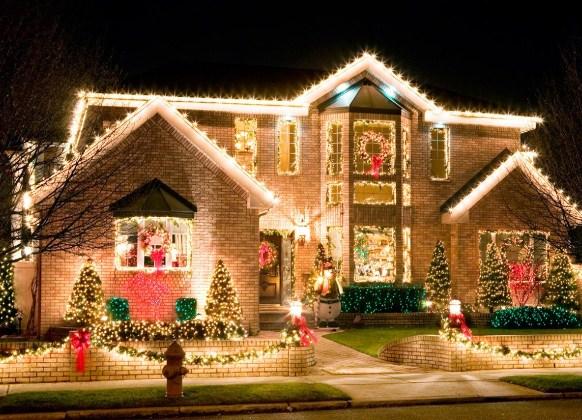 Как украсить дом на новый год самостоятельно