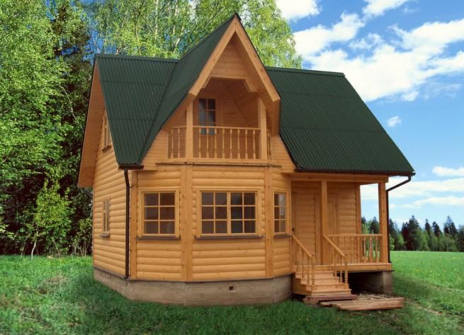 Красивые дачные домики фото