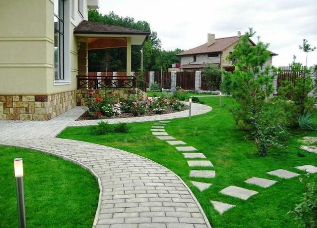 Ландшафтный дизайн домов и коттеджей