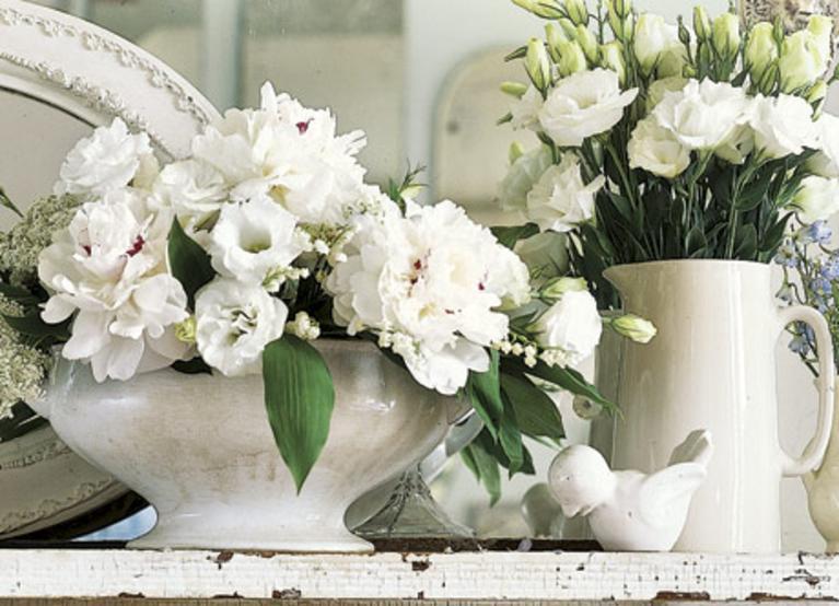 Искусственные цветы композиции