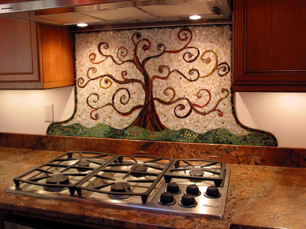 Ceramic Kitchen Decorative Backsplash Scripture