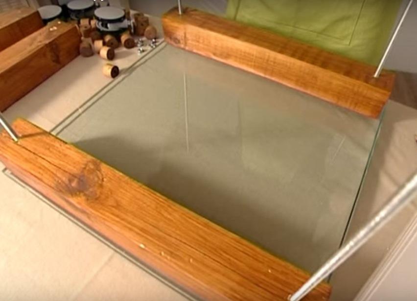 Сделать стол своими руками из стекла 968