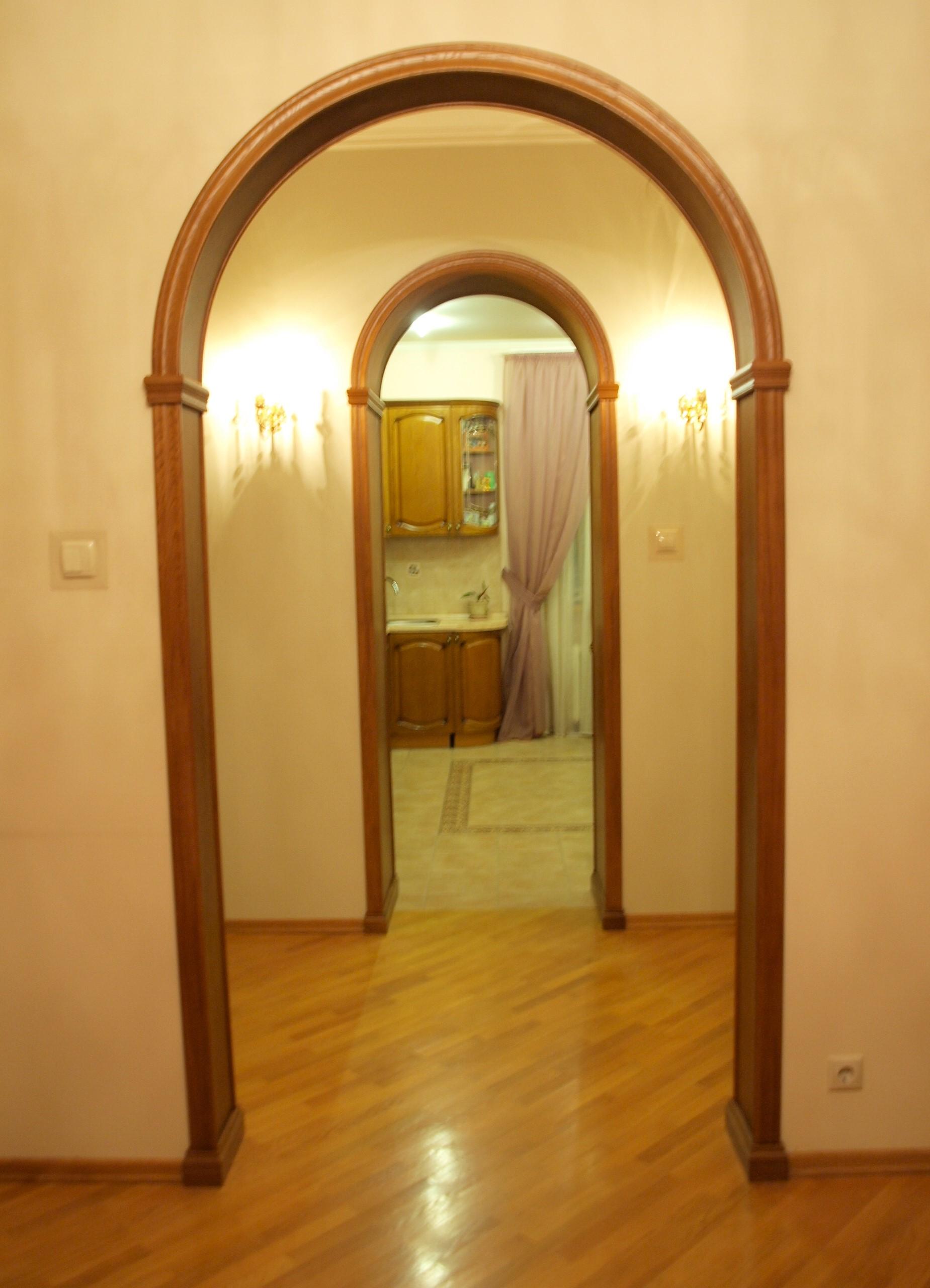 Межкомнатная арка своими руками (7 фото)