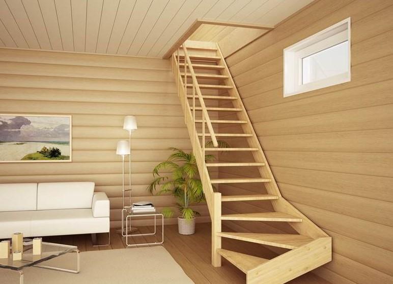 Лестница для дома на второй этаж