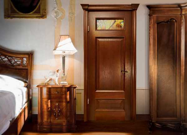 межкомнатные двери классика фото