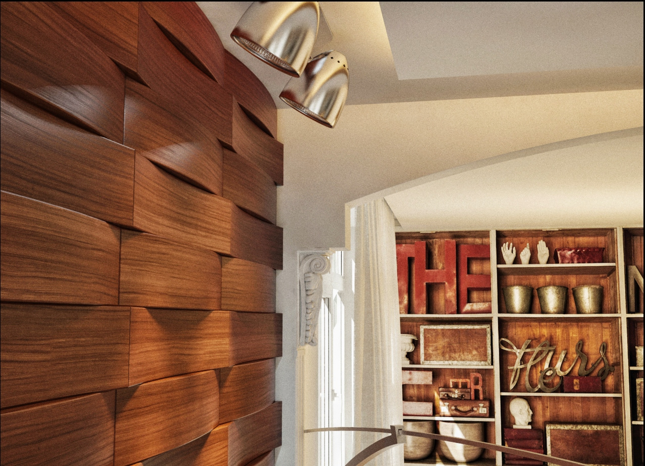 Деревянные панели для стен как сделать