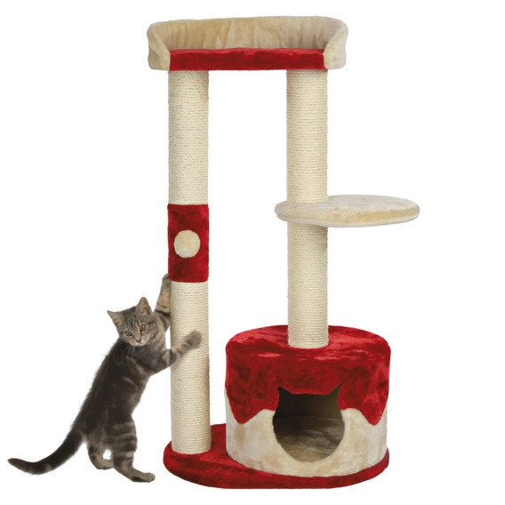 Стойка домик для кота