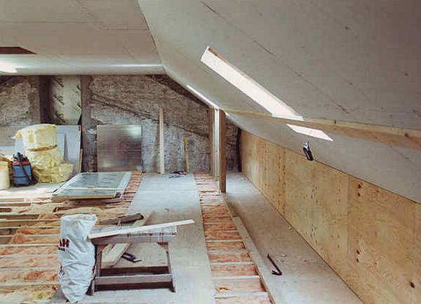 Профнастила пароизоляция крыши из
