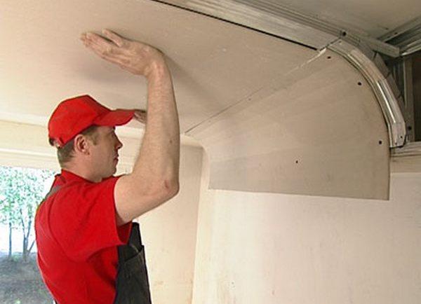 Как сделать переход от потолка к стене 414