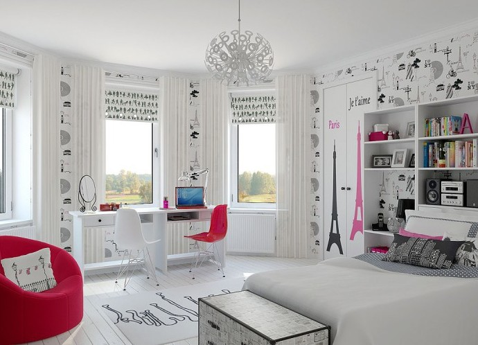 Дизайн для комнаты девочки 16 лет