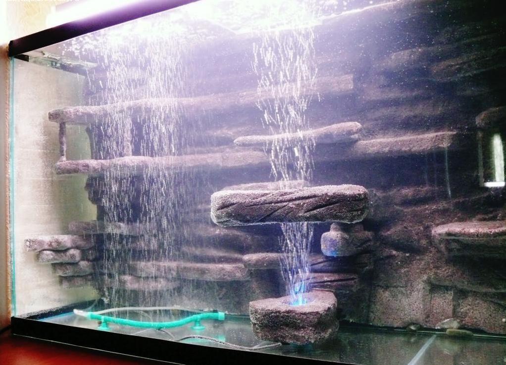 Задний фон аквариума своими руками 84