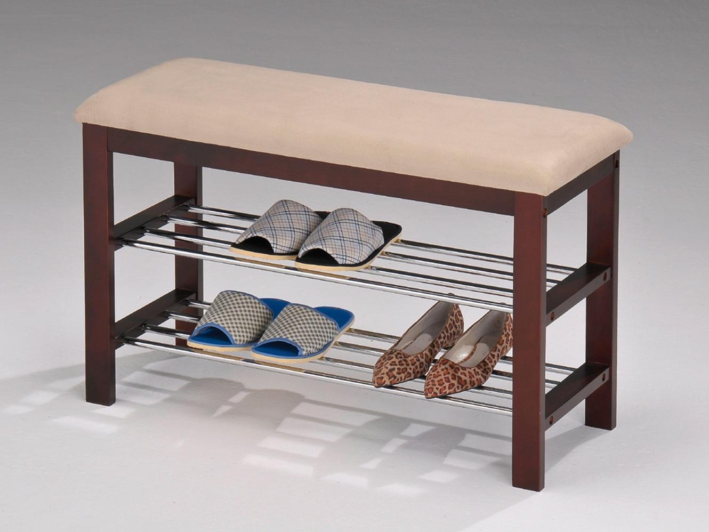 Полка скамейка для обуви