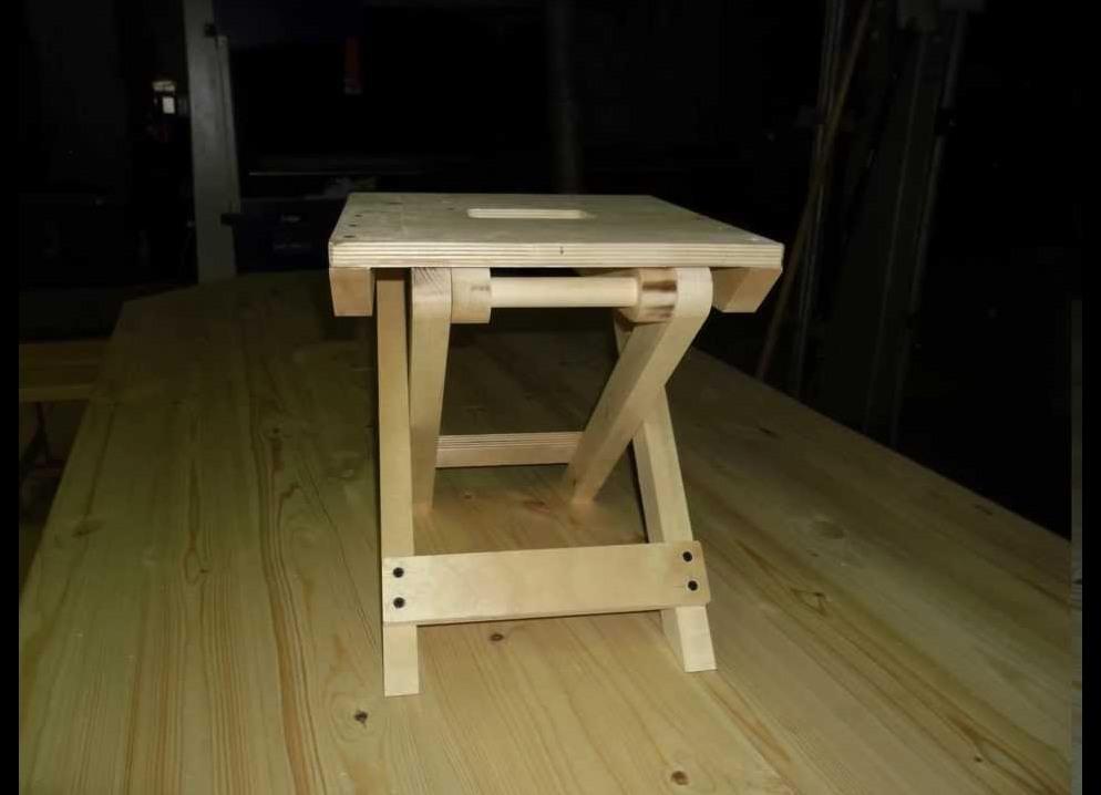 Как сделать табурет ящик из дерева