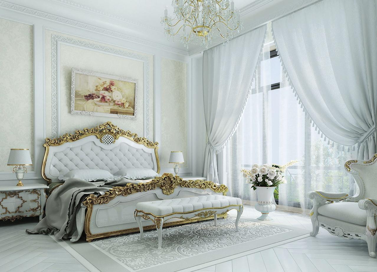 Картинки по запросу спальни классика фото