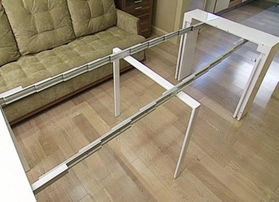 Длинный складной стол своими руками