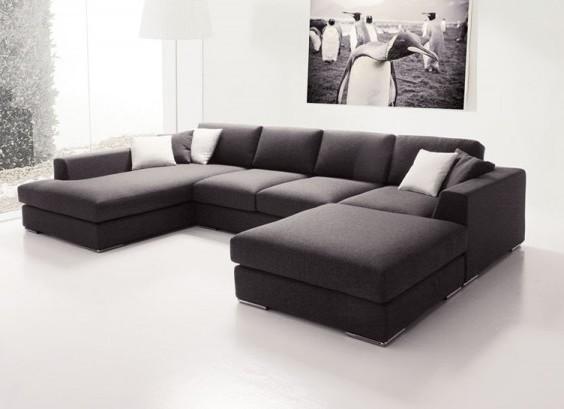 Угловые диваны для гостиной Москва