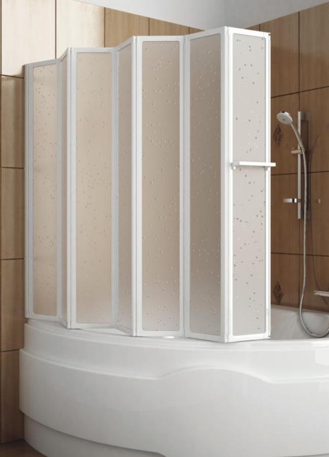 Шторки пластиковые для ванной