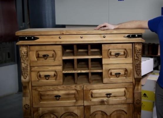 Легкая деревянная мебель своими руками