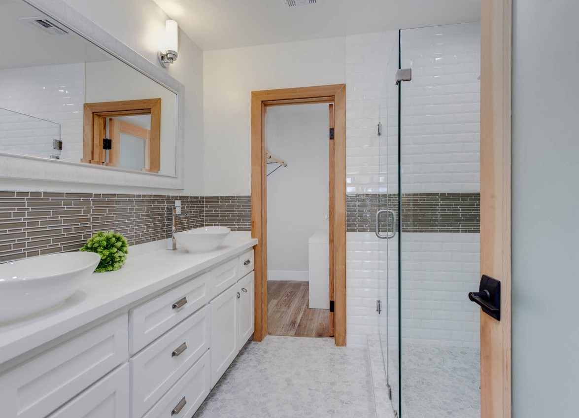 Menards bathroom tile