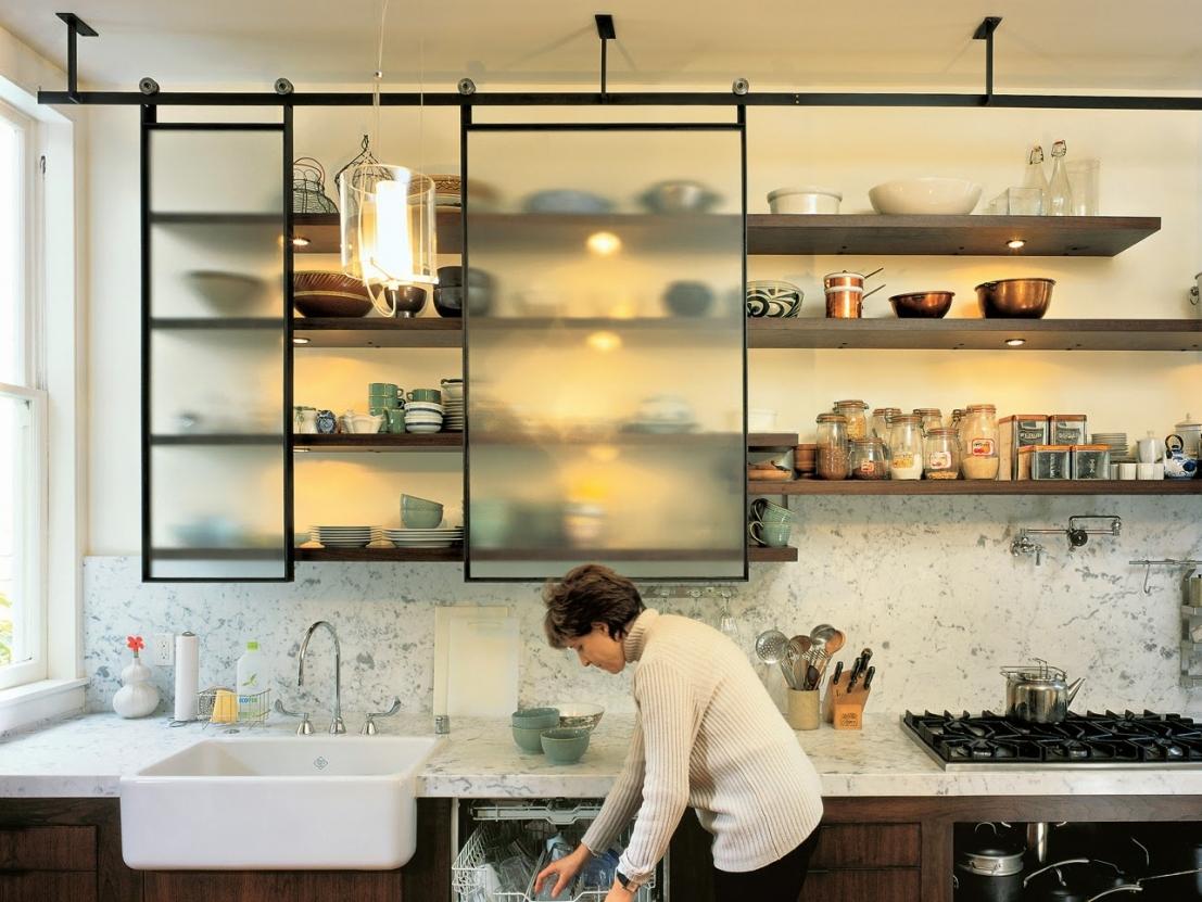 полки для кухни навесные фото