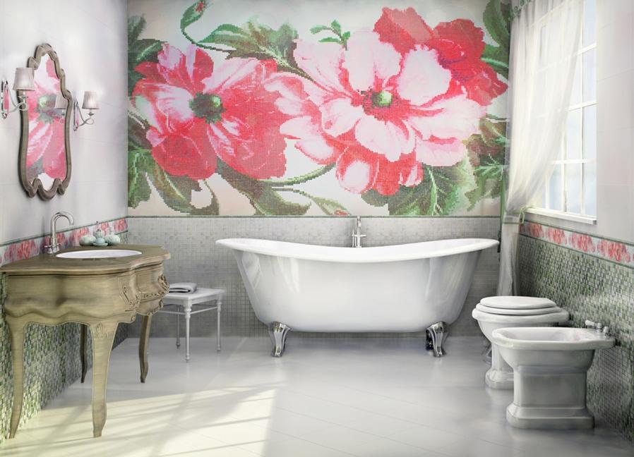 Панно современное в ванной